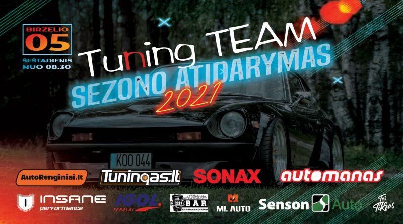 Tuning Team Sezono Atidarymas 2021