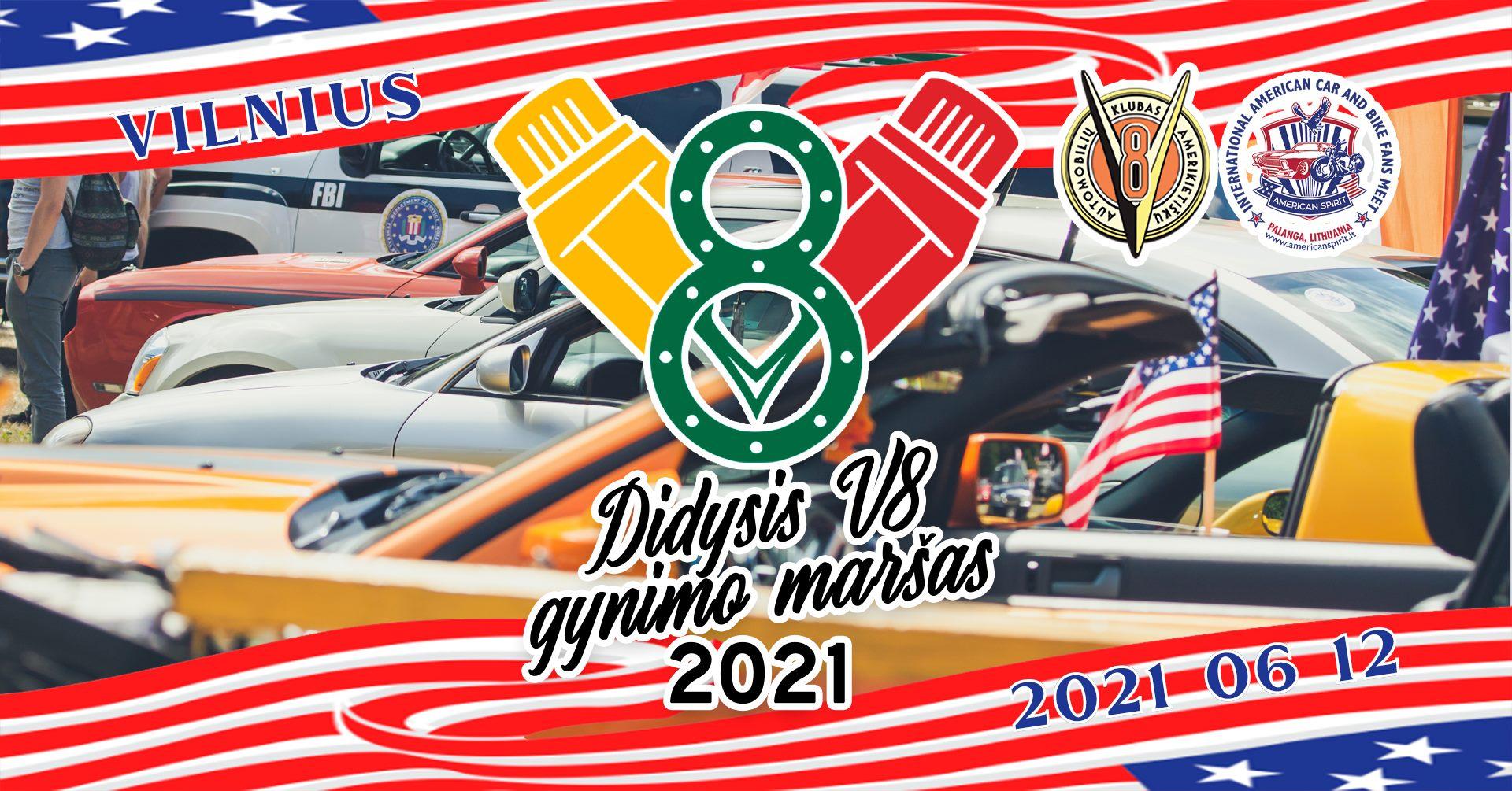 Didysis V8 Gynimo Maršas - V8CLUBLT Sezono Atidarymas