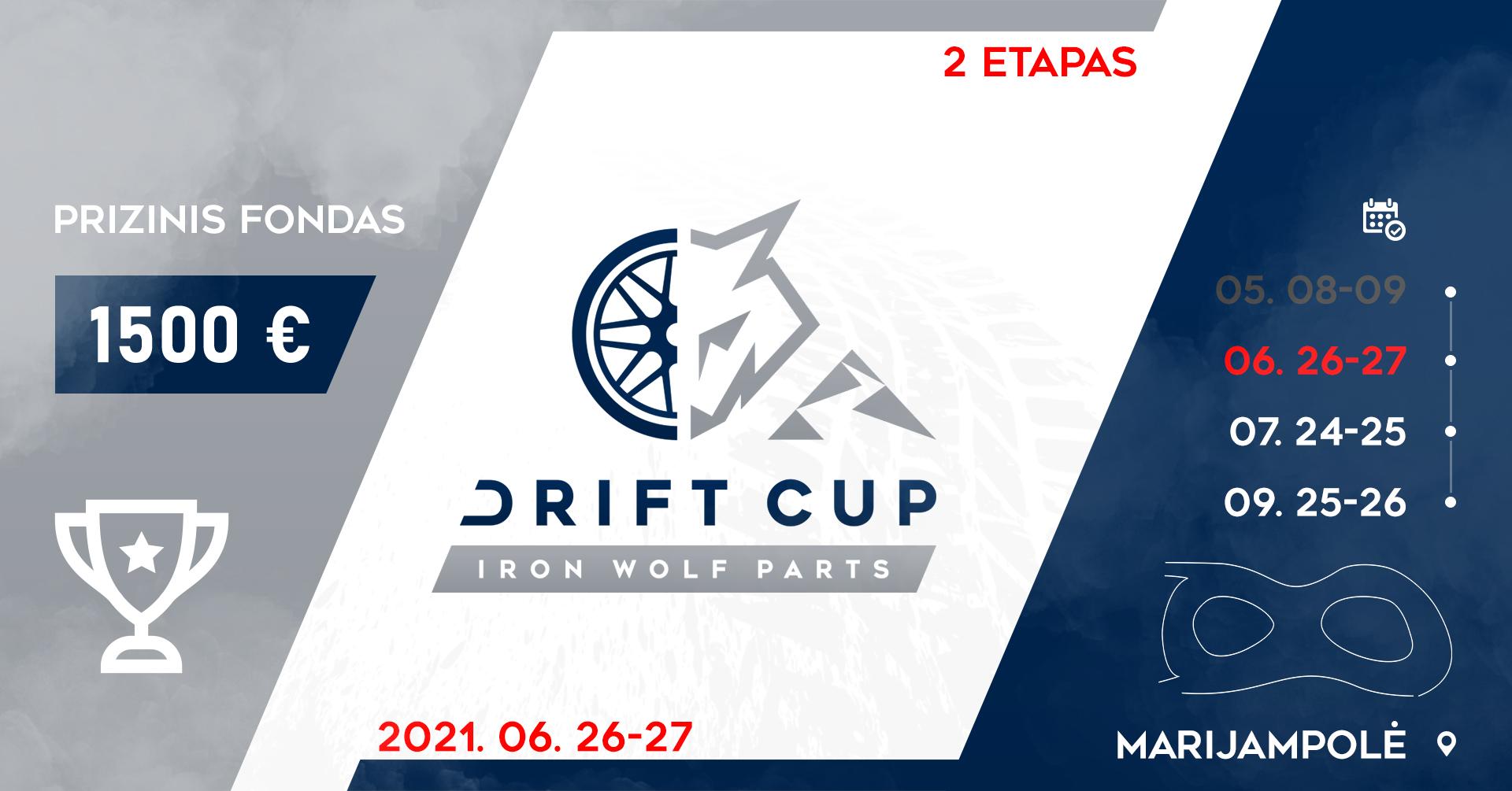 Iron Wolf Parts Drift Cup 2 Etapas