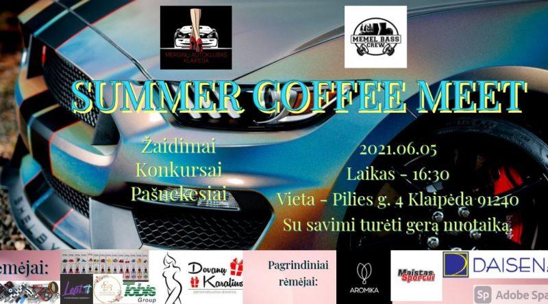 Summer coffee meet