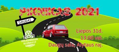 VW Klubas LT Piknikas 2021