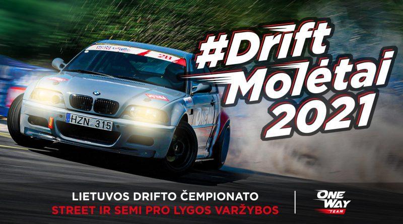 Drift Molėtai 2021. Semi-Pro ir Street varžybų 4-asis etapas
