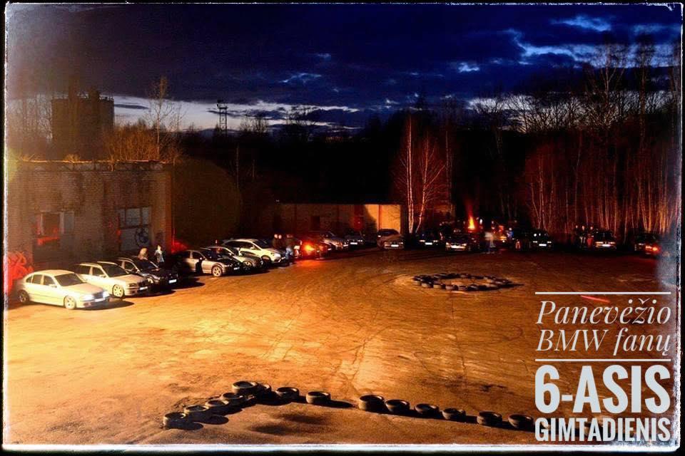 Panevėžio BMW fanų 6-asis gimtadienis