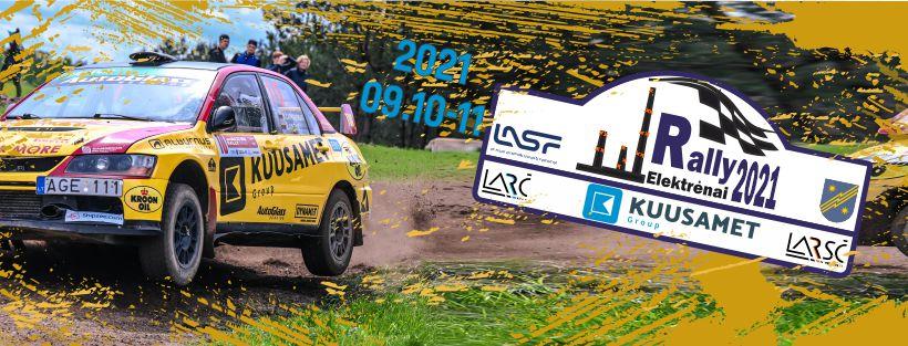 Kuusamet Group Rally Elektrėnai 2021