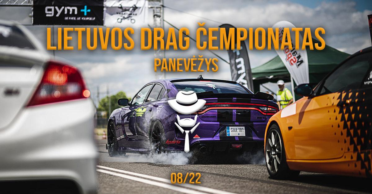 Lietuvos Drag Čempionatas Panevėžyje