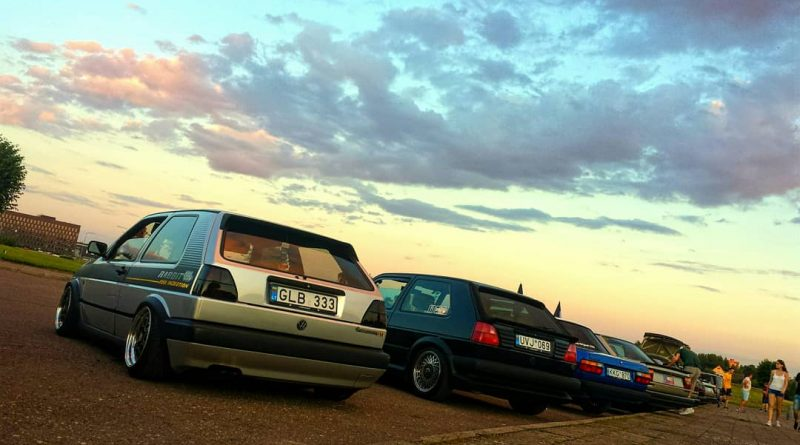 Old VW's Meet