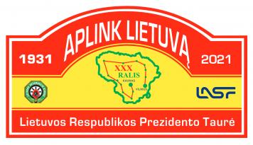 """Ralis """"Aplink Lietuvą"""" 2021"""