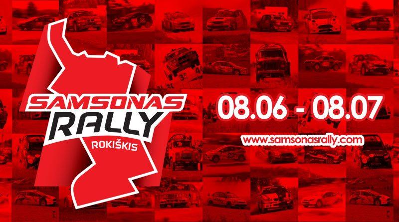 Samsonas Rally Rokiškis 2021