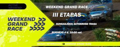 Weekend Grand Race III etapas