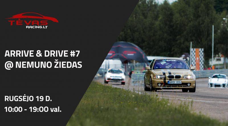 Arrive & Drive #7 | Nemuno žiedas
