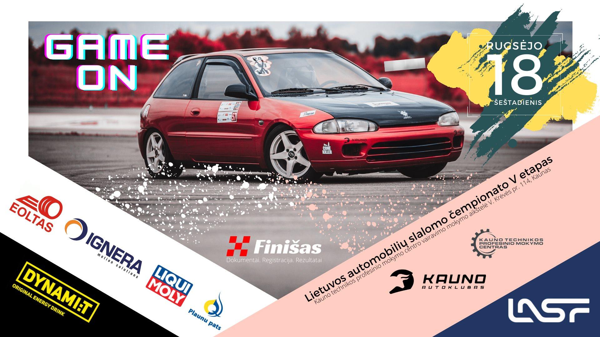 Lietuvos automobilių slalomo čempionato V etapas