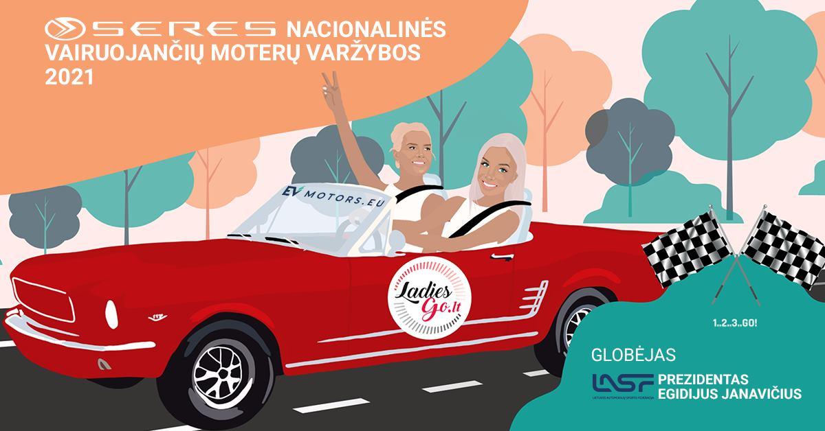 Orientacinis-Pramoginis ralis ORLEN Ladies Go Kuusamet group Rally Elektrėnai 2021