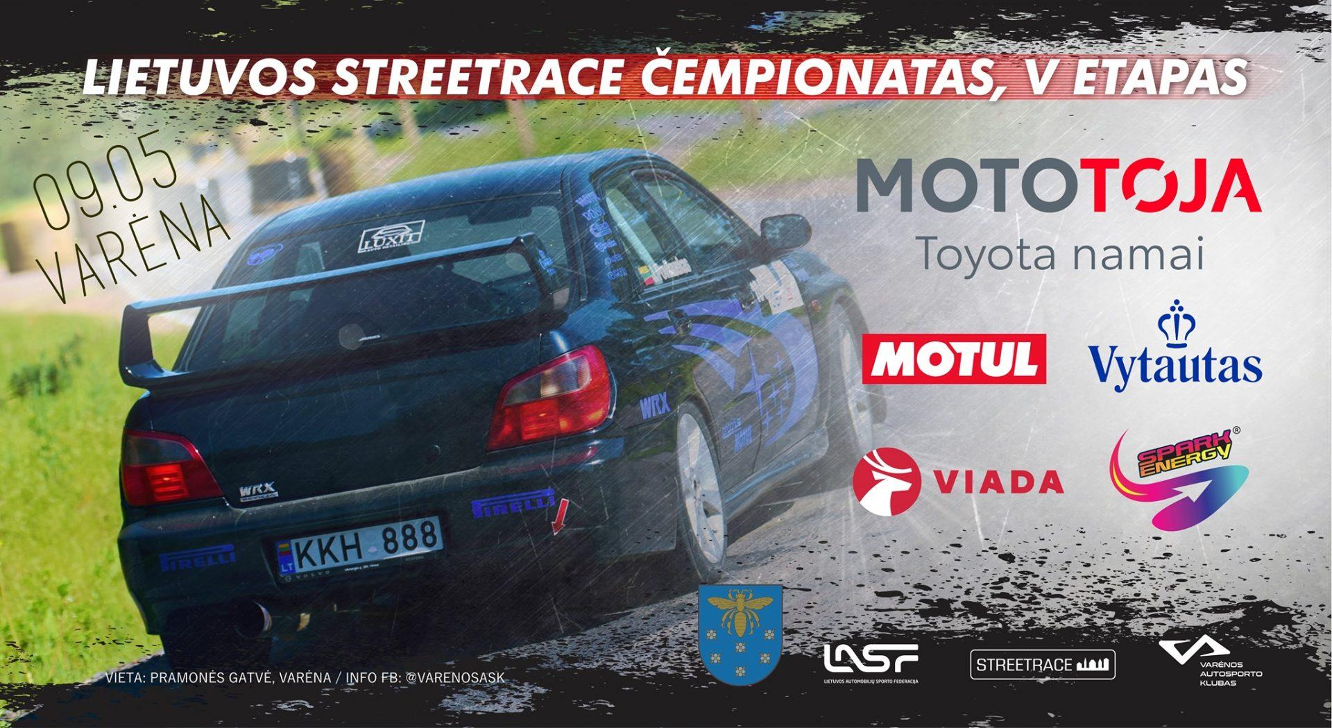 VARĖNA STREET RACE #V etapas