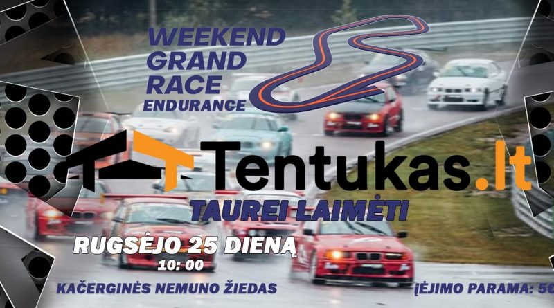 Weekend Grand Race Endurance TENTUKAS.LT taurei laimėti