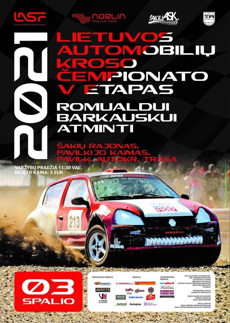 2021 m. Lietuvos automobilių kroso čempionato V etapas