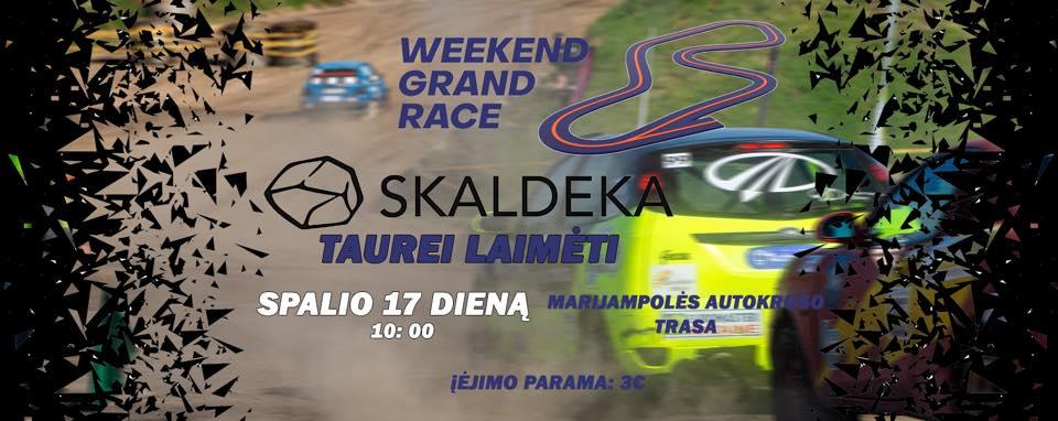 """Weekend Grand Race IV etapas """"SKALDEKA"""" taurei laimėti"""